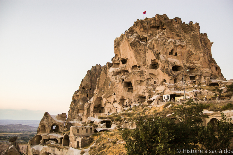 Le château d'Ushisar