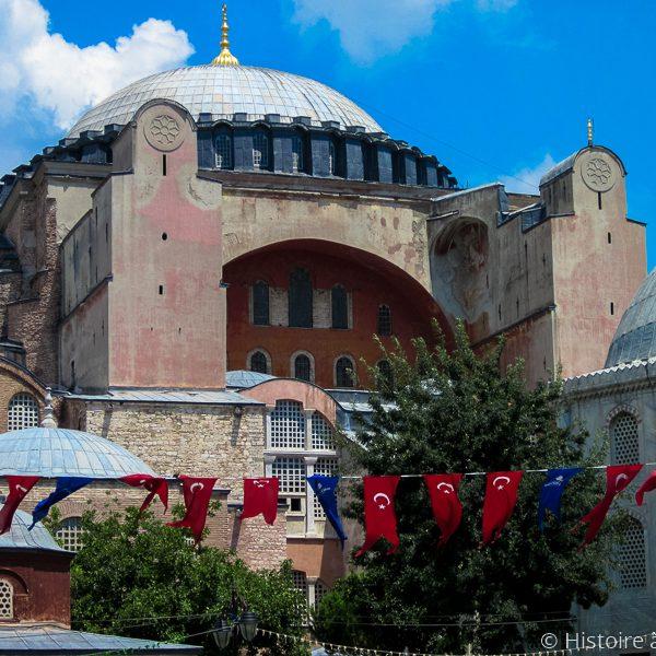 Eglise Sainte-Sophie devenue mosquée