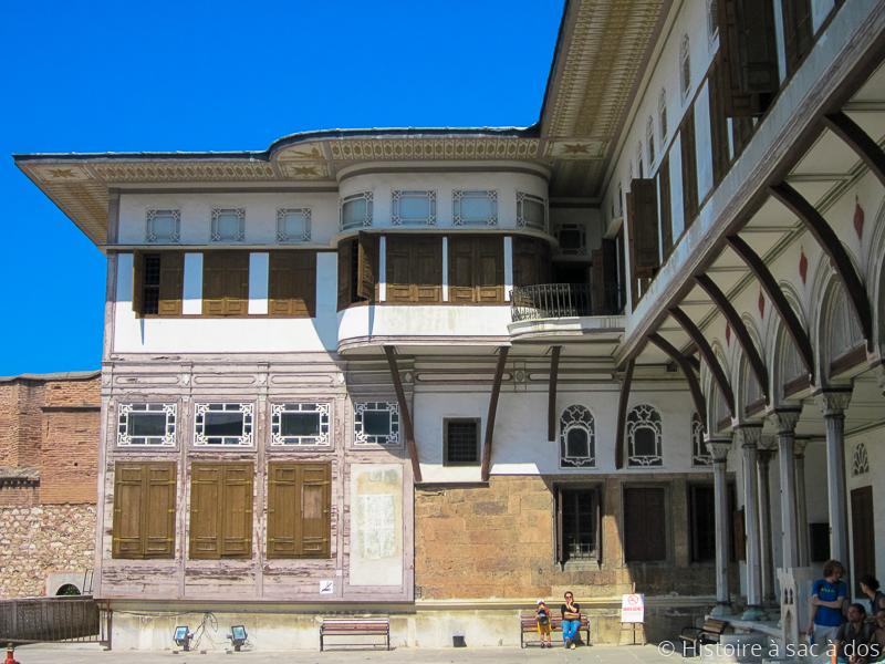 Appartements des concubines du sultan dans le harem