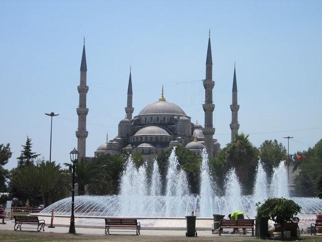 Mosquée bleue d'Istanbul, construite au XVIIème siècle