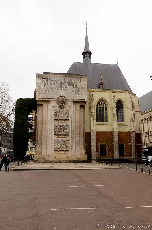 Palais de Rihour, actuel office du tourisme de Lille