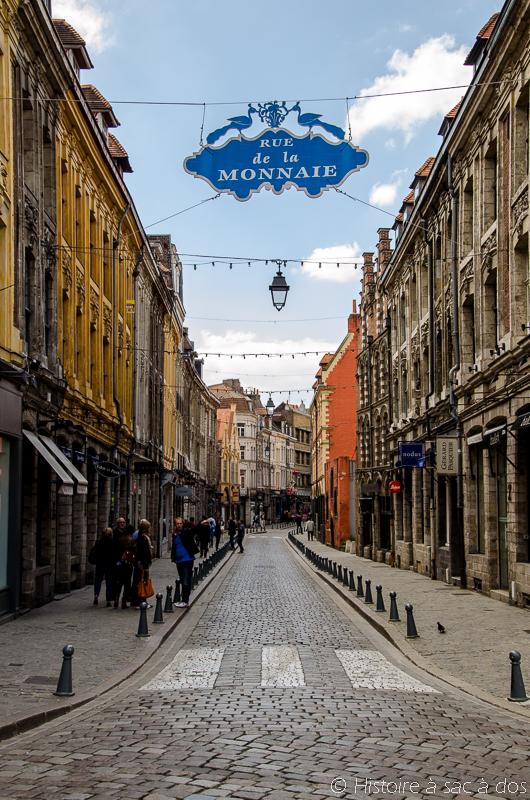 Rue de la Monnaie à Lille