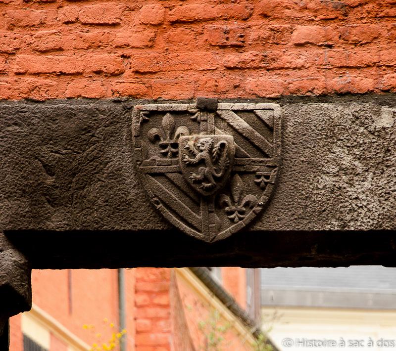 Armoiries de la maison de Bourgogne et de Flandre
