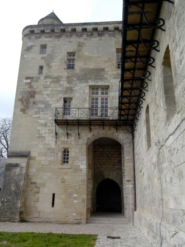 Assommoir et herse du château de La Roche-Guyon