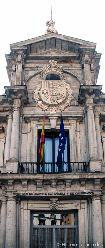 Ministère des affaires étrangères d'Espagne