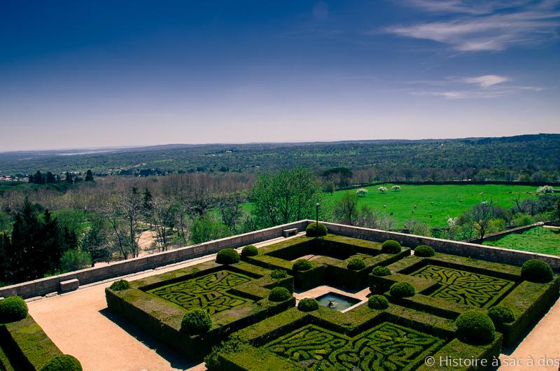 Jardins royaux du monastère del Escorial