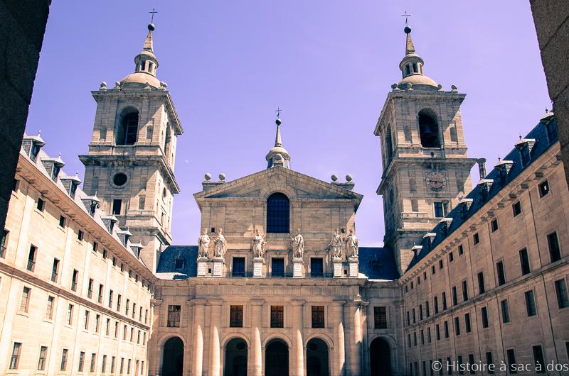 Cour des Rois du monastère royal del Escorial