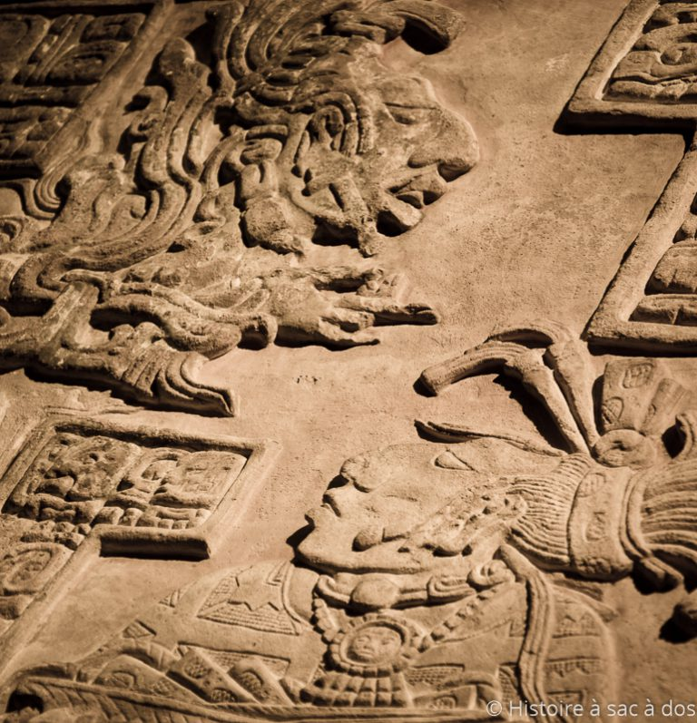 Bas-relief maya - British museum