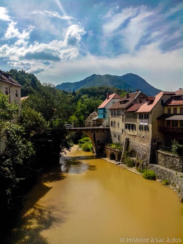 Pont des Capucins de Skofja Loka