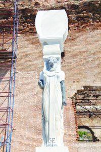 Statue de Sekhmet retrouvée à Izmir
