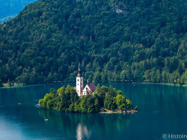 Île du lac de Bled
