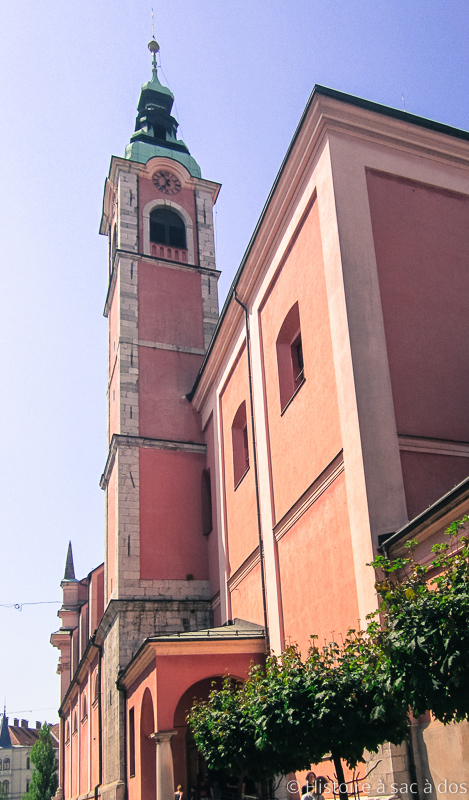Eglise de l'Annonciation de Ljubljana