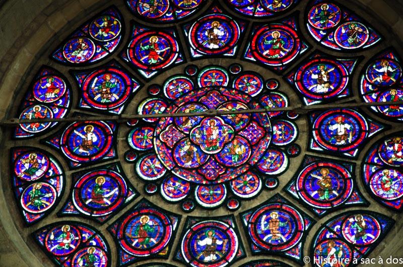 Vitrail de la cathédrale de Laon