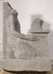 © Cnrs-Cfeetk /J. Maucor. Statue de Ramose en granodiorite