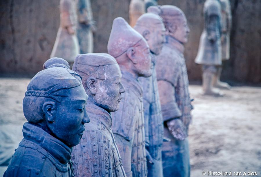 Guerriers en terre cuite de Xian - Chine