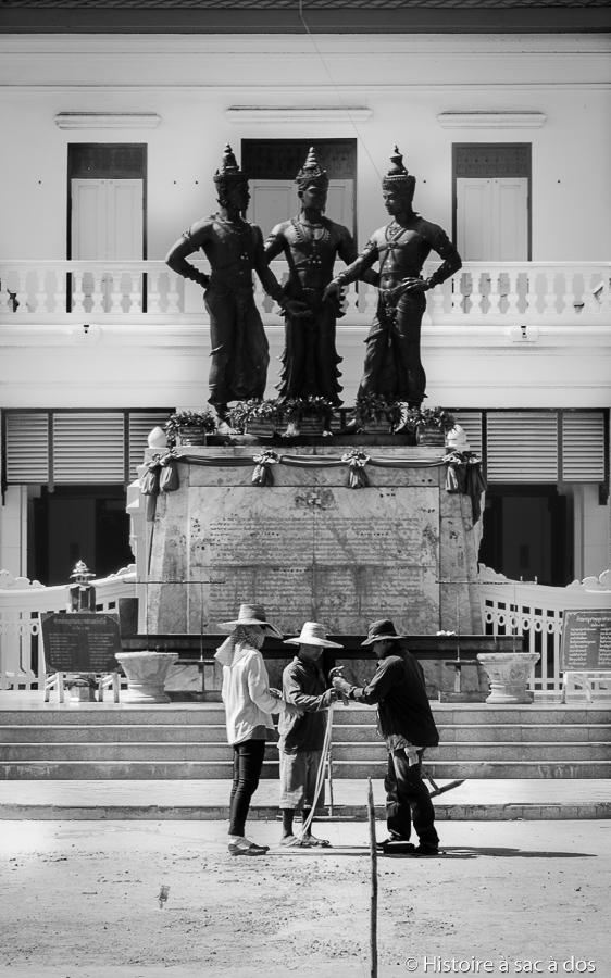Monuments des trois rois de Chiang Mai