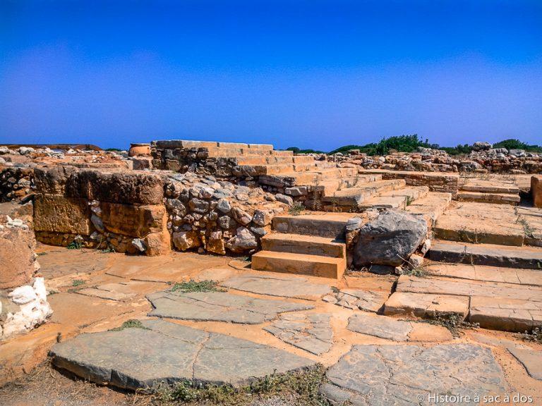 Palais de Malia en Crète