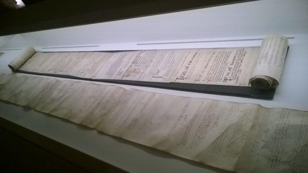 Rouleau aux morts - Musée de Cluny