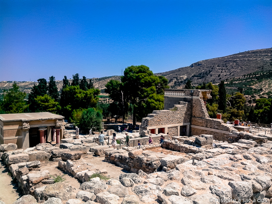 Palais de Cnossos en Crète
