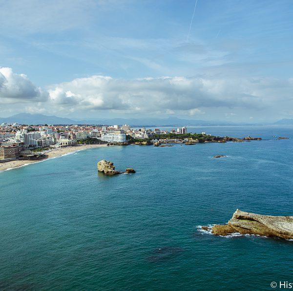 Vue de Biarritz