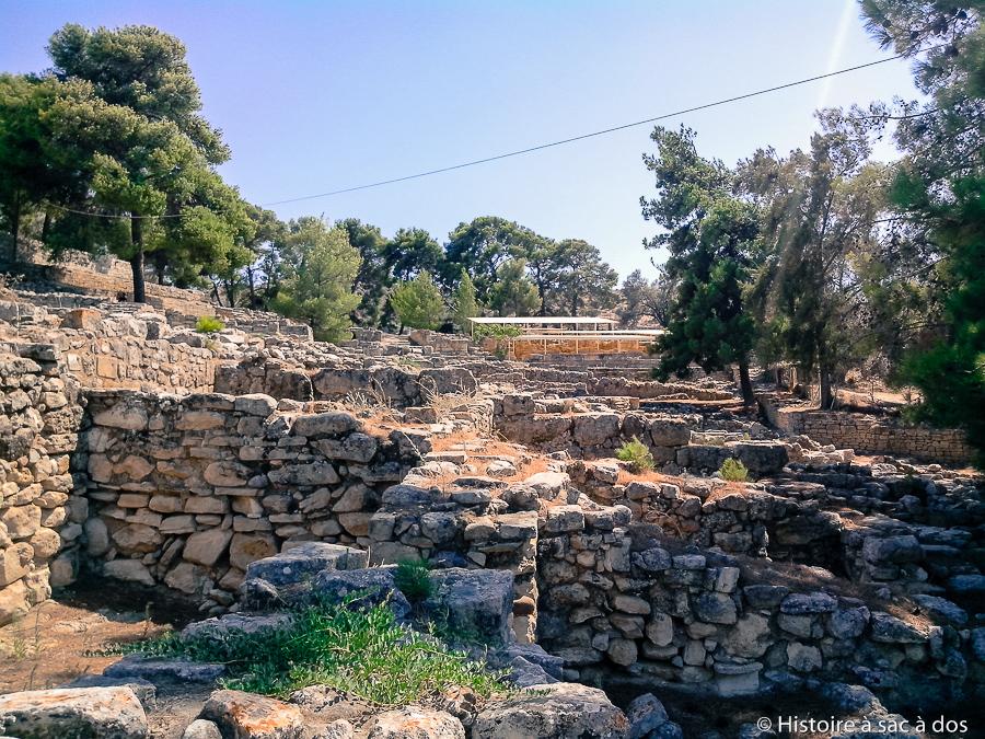 Site archéologique d'Hagia Triada - Crète