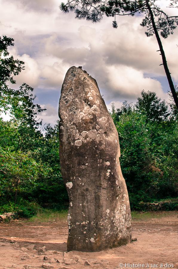 Menhir - Le géant de Manio