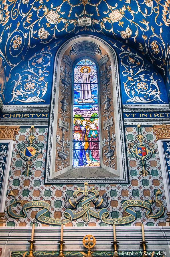 Cathédrale catholique d'Albi construite après la croisade
