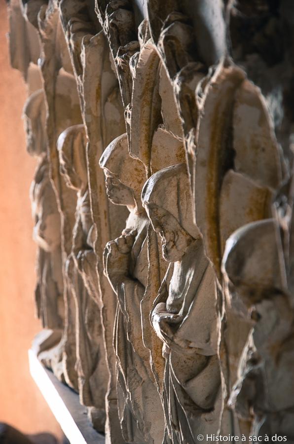 Sculptures du château musée de Carcassonne