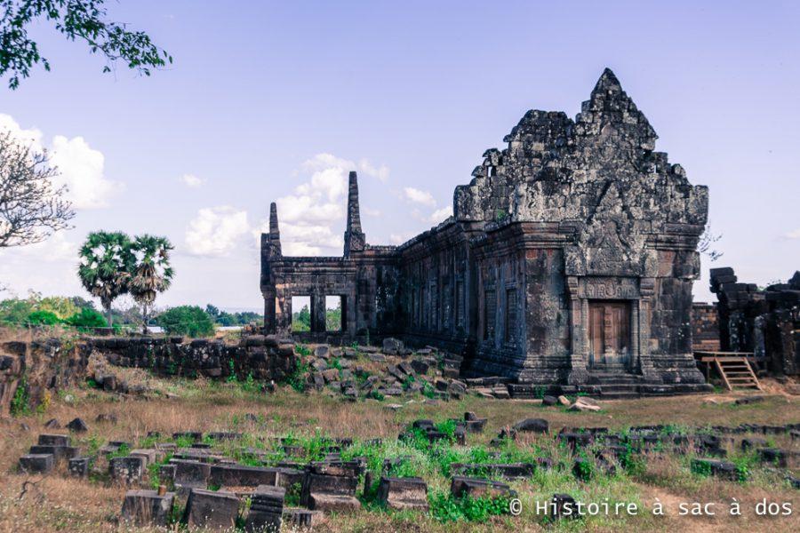 Site archéologique de Vat Phu au Laos