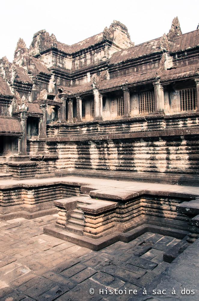 Bassins d'eau sacrée - Temple d'Angkor Vat