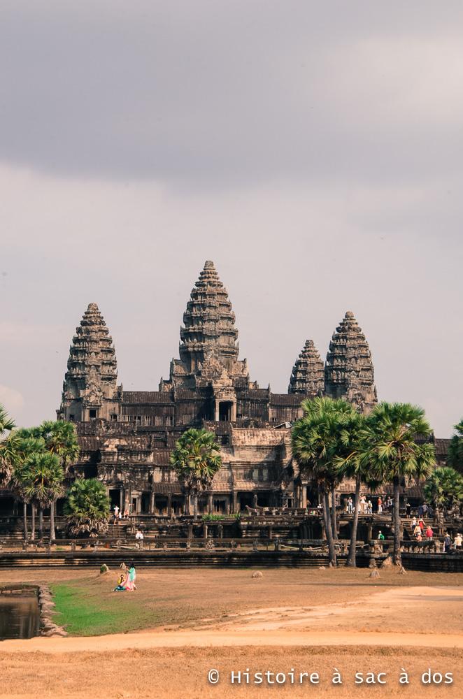 Temple Angkor Vat - Construit au XIIème siècle par Suryavarma II.