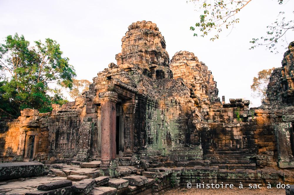 TemplePreah Khan - Temple à plat - Construit sous Jayavarma VII