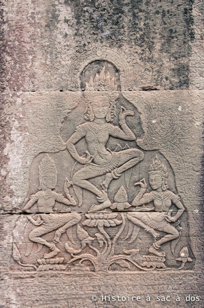 Asparas du Bayon - Angkor Thom