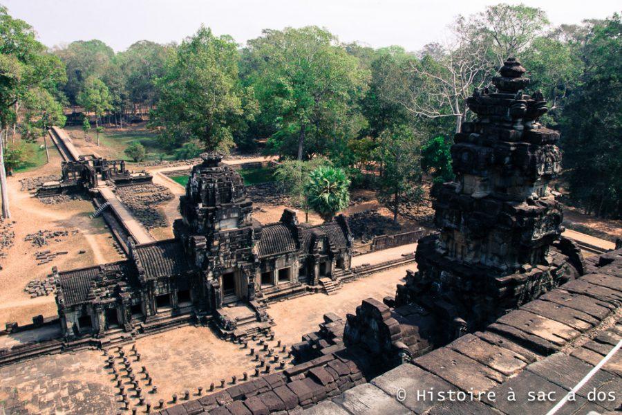 Temple de Baphuon - Construit vers le milieu du XIème siècle - Angkor Thom