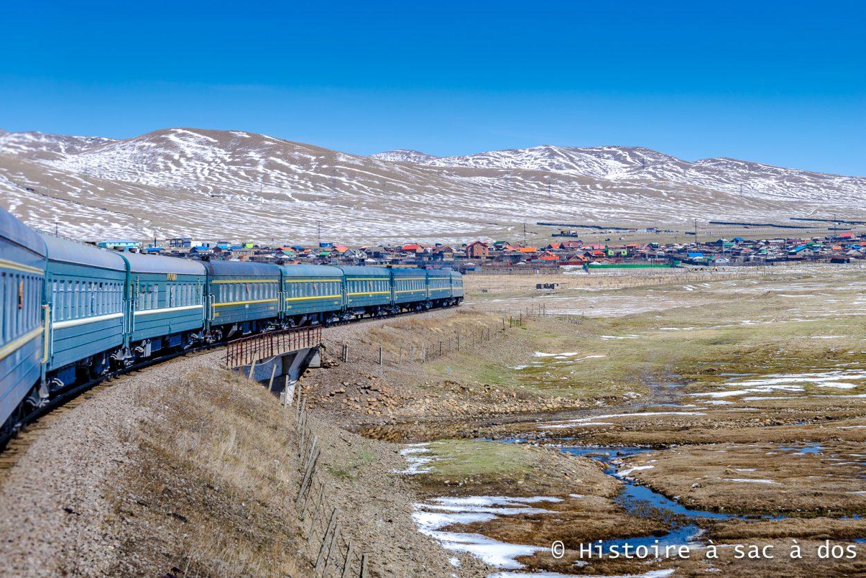 Transmongol en direction d'Oulan-Bator.