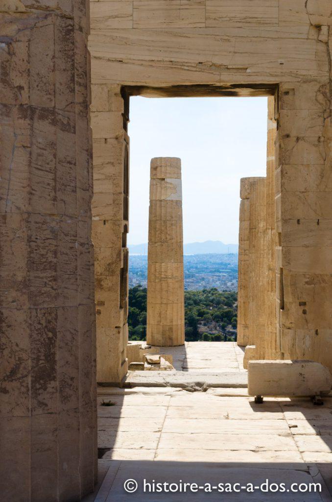 L'Acropole, Athènes, Grèce