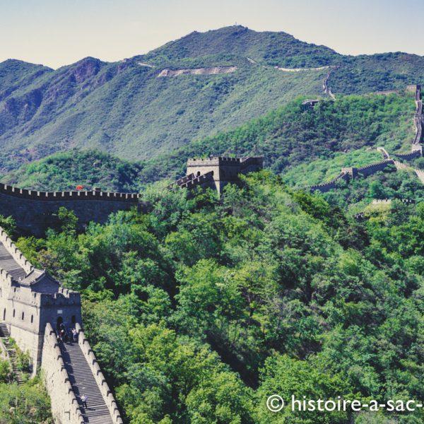 Section Mutianyu construite sous les Ming au XVè et XVIè siècle, près de Pékin.
