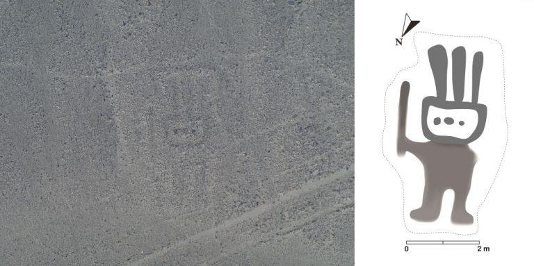 Géoglyphe nouvellement découvert à Nazca - Image: © IBM