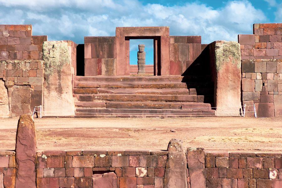 Site archéologique de Tiwanaku, Bolivie