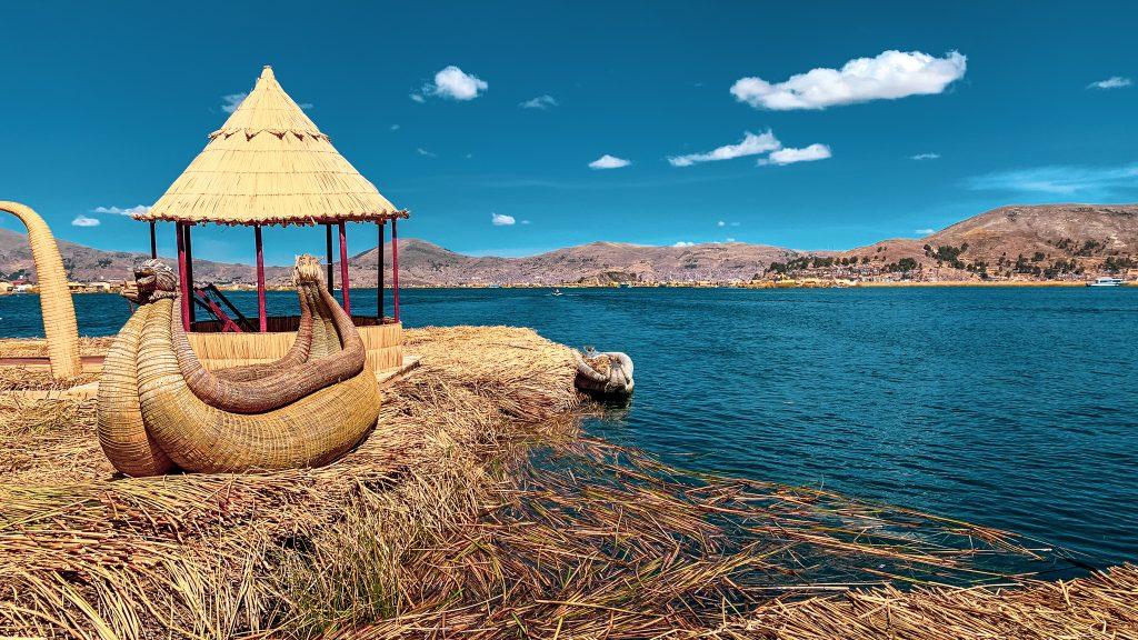 Lac Titicaca, Pérou.