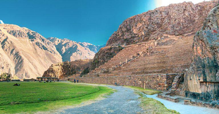 Ollantaytambo, site archéologique inca. Pérou