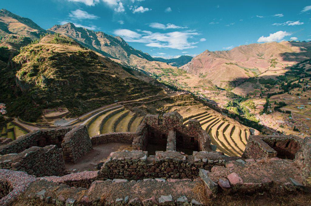 Site archéologique de Pisac, Pérou.