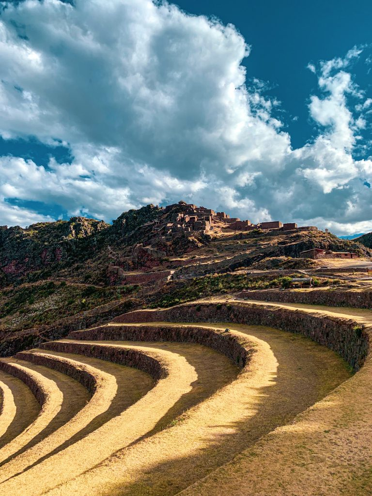 Terrasses et citadelle de Pisac, Pérou.