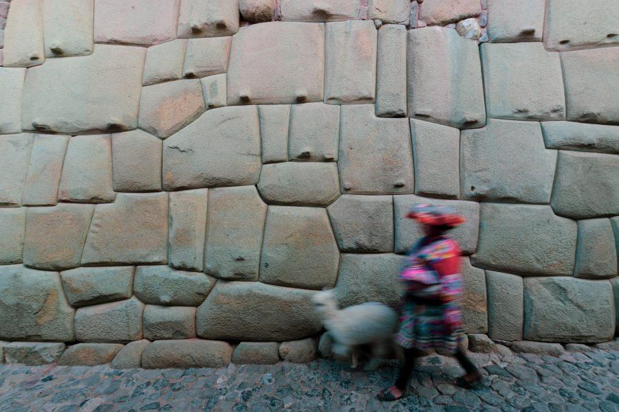 Mur inca de Cusco, Pérou